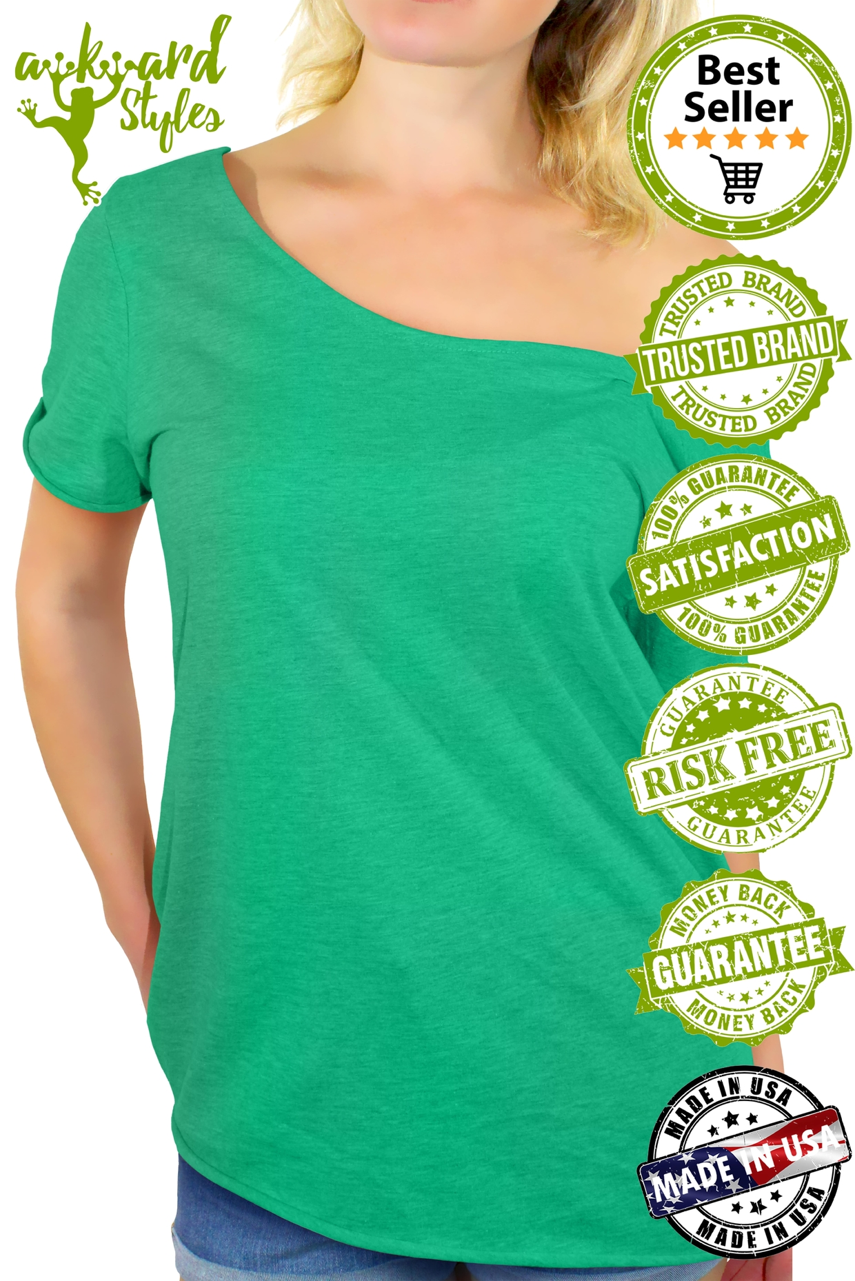 8e295681d2 F*ck Cancer Off The Shoulder Tops T shirts Cancer Awareness Women's Support  3 3 of 4 ...