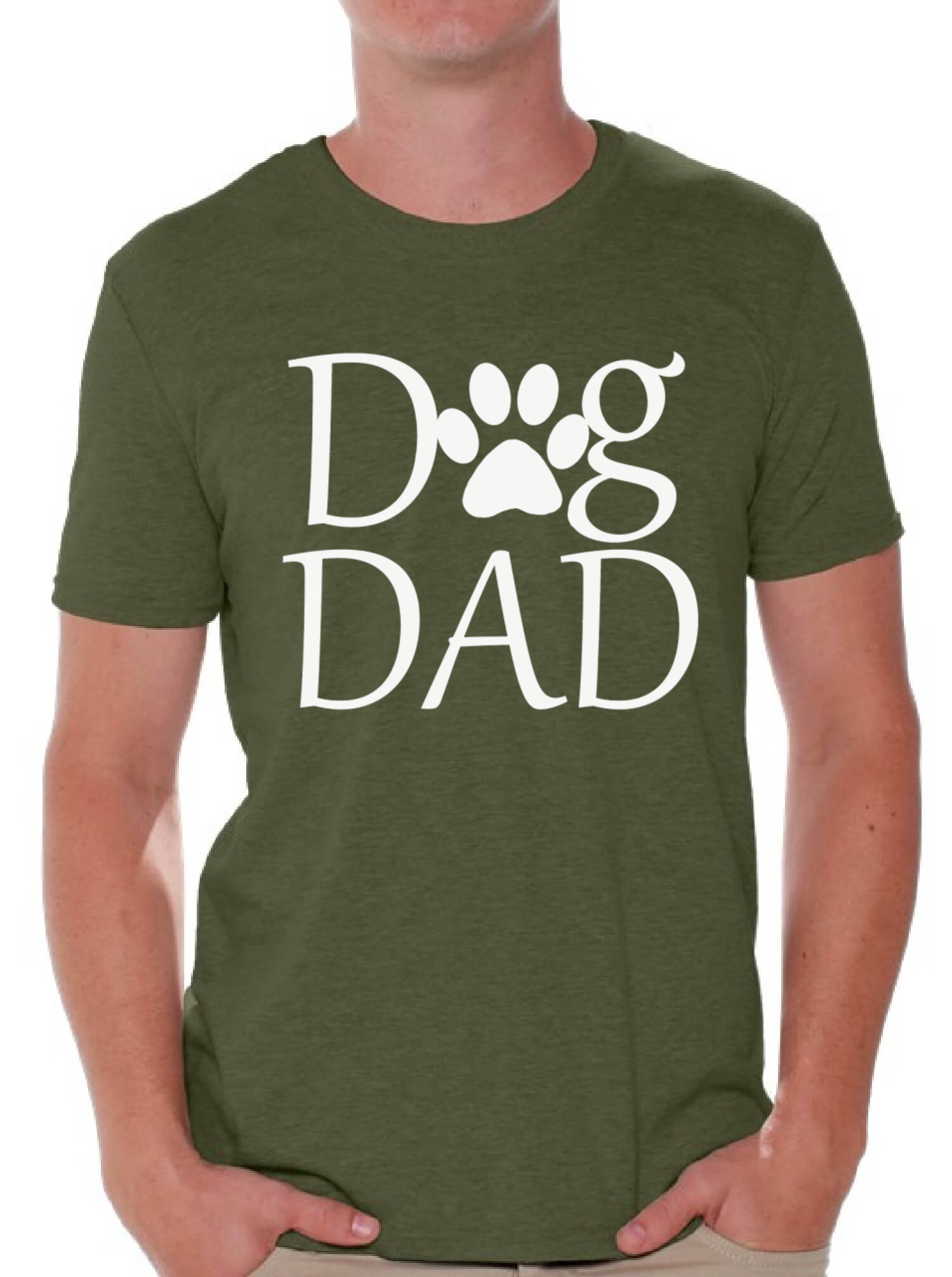 Dog Dad T Shirt Tops Pet Lover Father S Day Gift Dog Lover