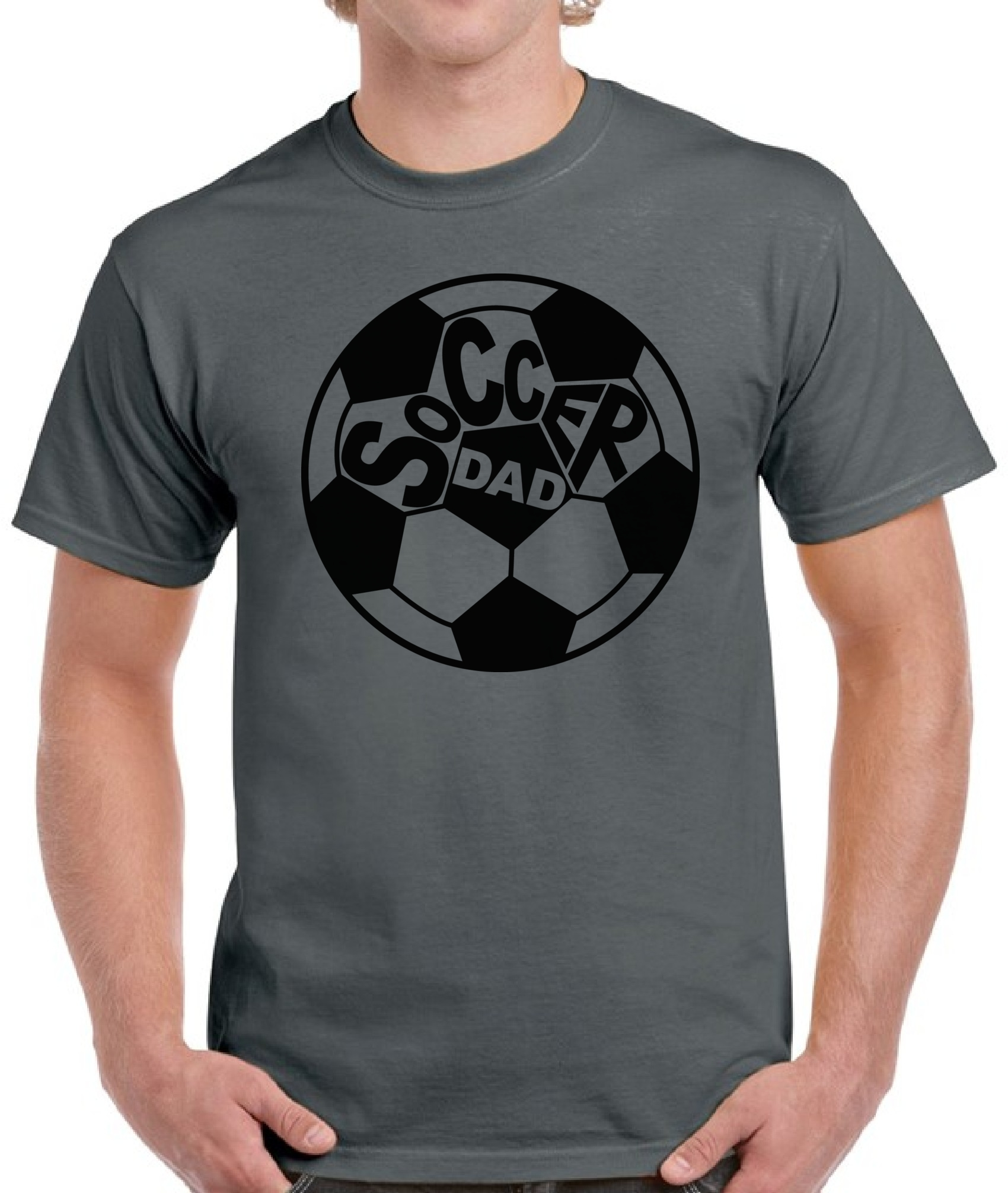 Soccer Dad Cool Shirt Top Soccer Coach Gift Daddy Gifts Father\'s Day ...
