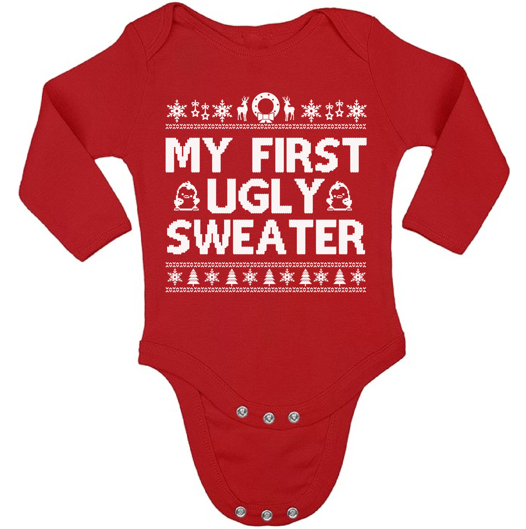Christmas-Baby-My-First-Ugly-Sweater-Bodysuit-for-