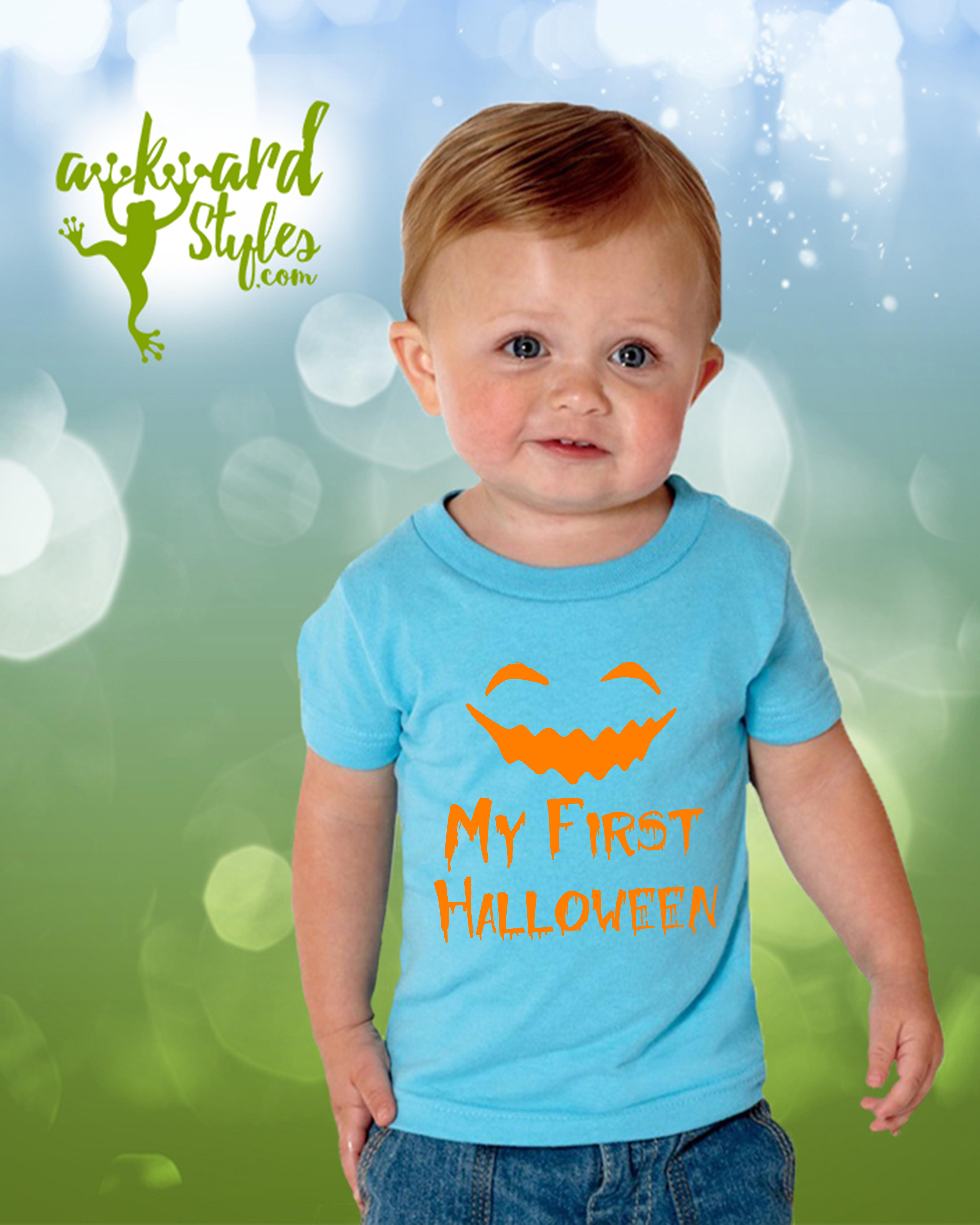 my first halloween toddler shirts girl boy infant shirts halloween