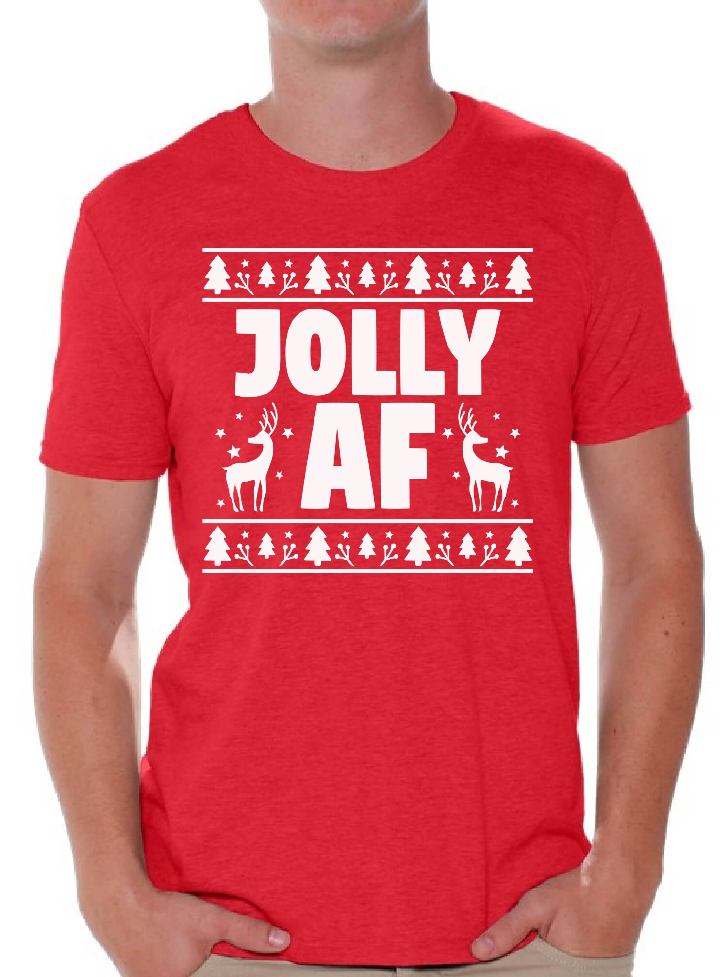 Jolly Christmas T-shirt 0rjZ8S6aL