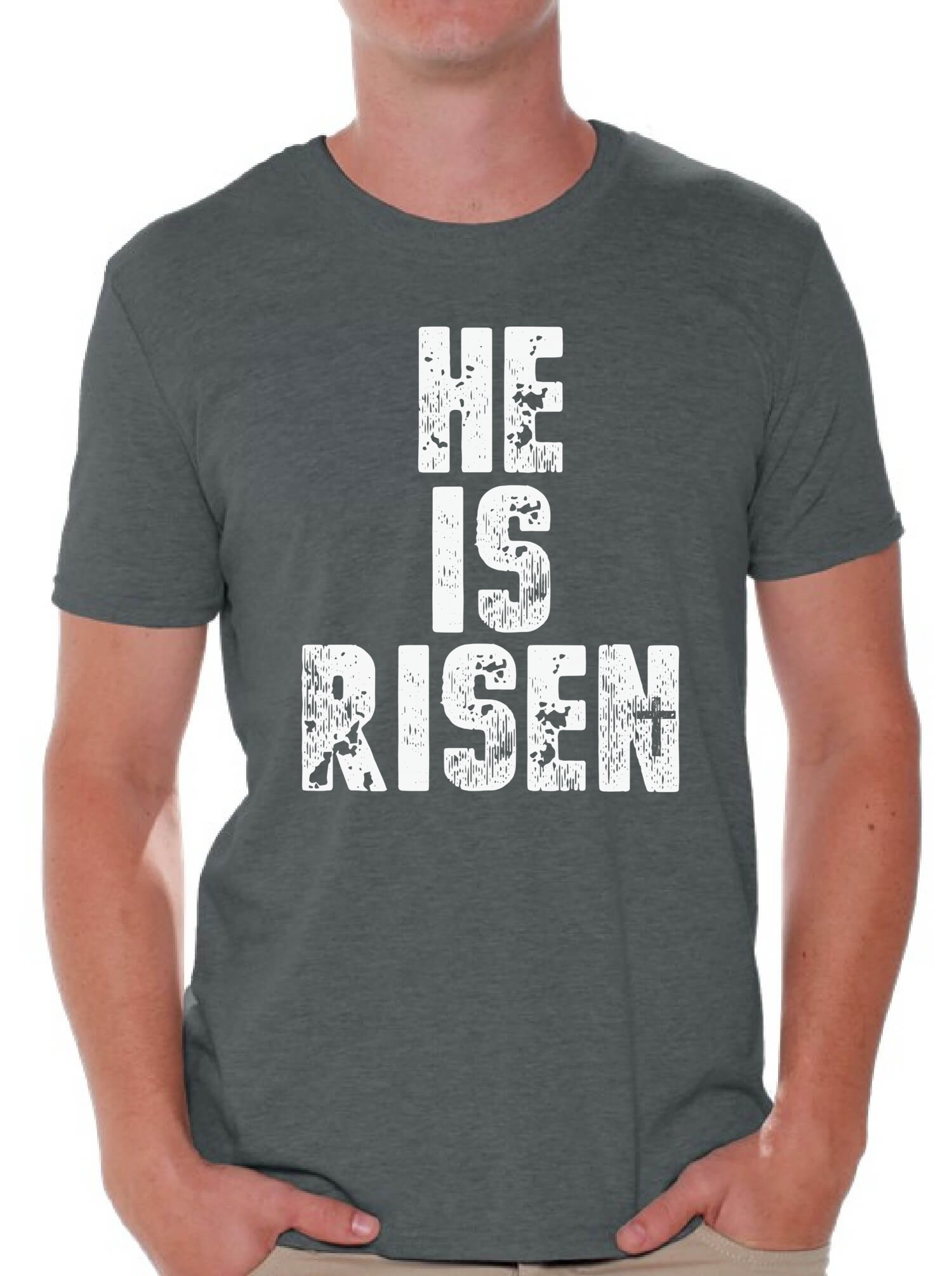 He is risen easter shirt christian shirt for men christian easter he is risen easter shirt christian shirt for negle Gallery