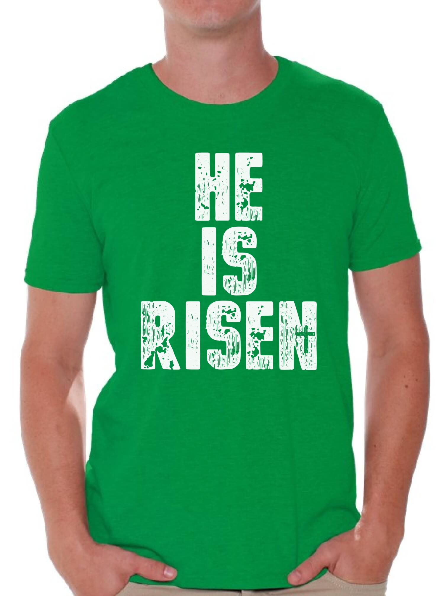 He is risen easter shirt christian shirt for men christian easter he is risen easter shirt christian shirt for negle Images