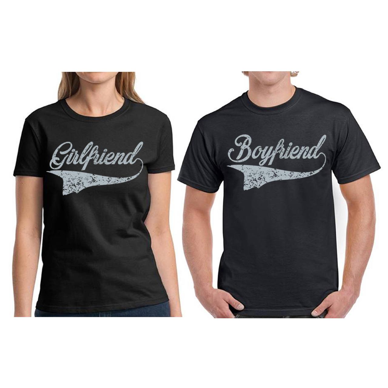 matching boyfriend girlfriends shirts couples shirts. Black Bedroom Furniture Sets. Home Design Ideas