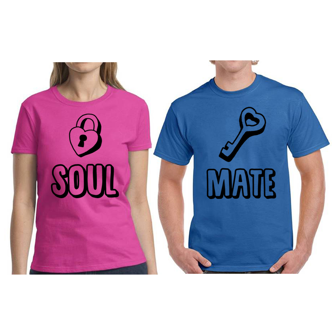 Couple Shirts Soulmate T Shirts For Couples Valentines Day Cute